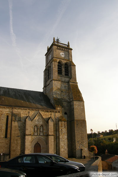 photo d'eglise de Bellac