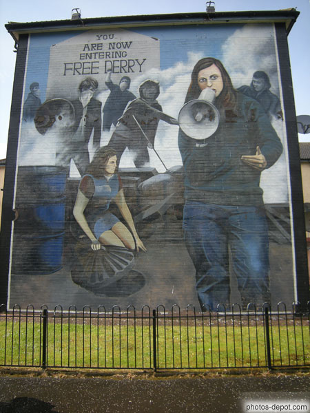 photo d'You are now entering Free Derry