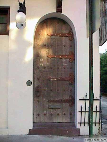 Porte de bois et fer forg - Porte bois et fer forge ...