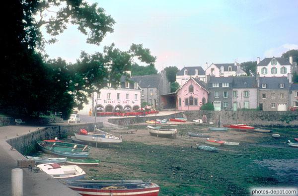 photo de Vieux port aux barques de bois échouées sur le sable ~ Sur Les Bois Annecy Le Vieux