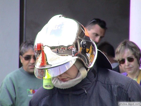 photo de Casque de pompier
